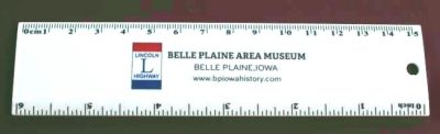 Lincoln Highway Ruler