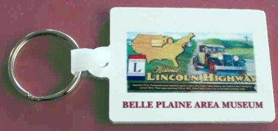 Lincoln Highway Key Chain