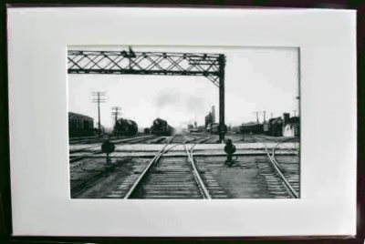 BP Rail Yard Framed Photo